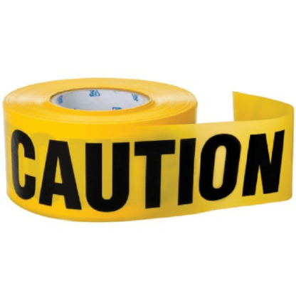 3A Safety BC-1002 Yellow Caution Tape