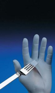 N-DEX Nitrile Gloves - N-DEX original nitrile gloves, 4-mil, powdered