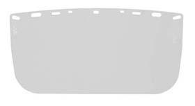 Visors - Flat acetate visor