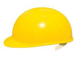 Bump Caps - Bump cap w/ yellow shell, suspension & vinyl brow pad