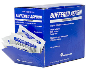 Buff Aspirin 100/bx