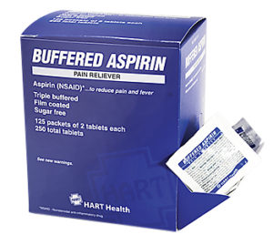 Buff Aspirin 250/bx