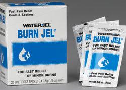 Water Jel Burn Jel 1/8 oz 25/bx