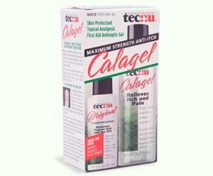 Tecnu FG10268 CalaGel Medicated Anti-Itch Gel 6oz Bottle