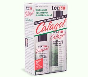 Tecnu FG10268 CalaGel Medicated Anti-Itch Gel 6oz Bottle