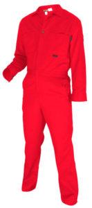 MCR CC1R Max Comfort FR 7oz Red Contractor Coveralls