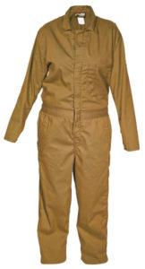 MCR CC2T Max Comfort 7oz Tan FR Contractor Coveralls