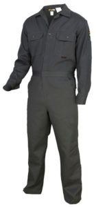 MCR DC1G Max Comfort 7oz Gray FR Deluxe Coveralls