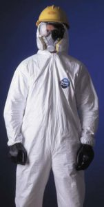 DuPont Tyvek Coveralls - Collar, elastic wrists & ankles