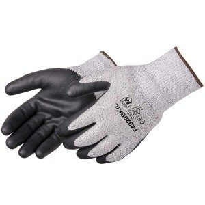Liberty Gloves F4920BK HPPE Black Foam Nitrile Palm Coated  Glove, Pair
