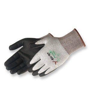 Liberty Gloves F4960 Y-Grip Black High Density Polyurethane Palm Coated Glove, Pair