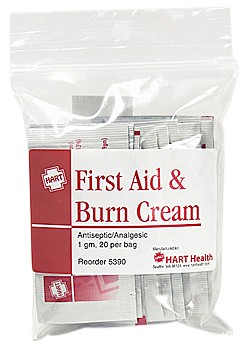 First Aid & Burn Cream 25ct.