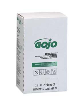 GOJO MULTI GREEN Hand Cleaner - MULTI GREEN Hand Cleaner refill for PRO 2000 dispenser