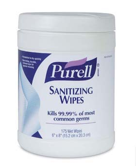 PURELL Sanitizing Wipes - PURELL Sanitizing Wipes, 175-count canister