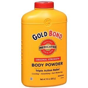 Gold Bond Triple Action Medicated Body Powder  4oz