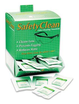 Safety Clean Pre-Moistened Towelettes - Pre-moistened towelettes