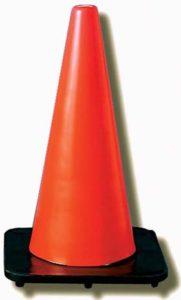 JACKSON SAFETY* DW Series Traffic Cones - Traffic cone w/ 4