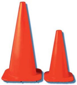 JACKSON SAFETY* W Series Cones - W Series cone, 6 1/2 lbs.