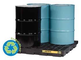 EcoPolyBlend Accumulation Centers - 4-Drum accumulation center
