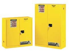 Sure-Grip EX Safety Cabinets for Flammables - 30-Gal. cabinet w/ 2 manual close doors