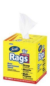 SCOTT Rags - POP-UP* Box, 200/Bx