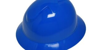 DURASHELL FULL BRIM 6 POINT PINLOCK SUSPENSION BLUE HARD HAT