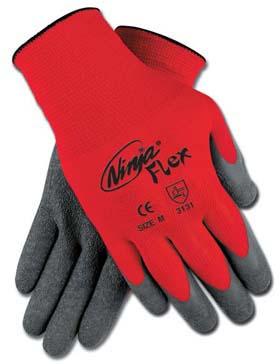 MCR N9680 Ninja Flex Latex-Coated Gloves, Dozen