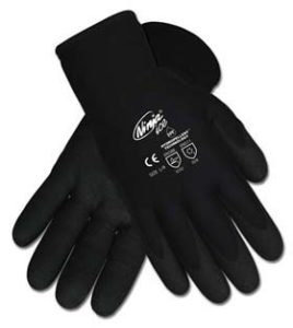 Ninja Ice Proprietary HPT Coated Palm and Fingertips Gloves - Ninja Ice HPT gloves