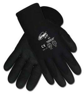 Ninja Ice Proprietary HPT Coated Palm and Fingertips Gloves - Ninja Ice HPT gloves