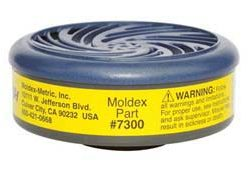 Moldex 7300 Organic Vapor/Acid Gas Cartridges
