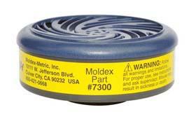 Moldex 7300 Organic Vapor/Acid Gas Cartridges
