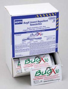 BugX Towelettes - BugX towelettes