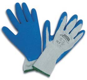 NorthFlex Duro Task Natural Rubber-Coated Poly/Cotton Gloves - Natural rubber-coated poly/cotton gloves