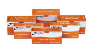 ProStat 2276 CPR Mask, Gloves, Wipes, 1 per box