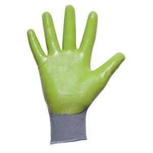 Palmer Green Nitrile Glove GPR-6K , Pair