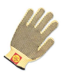 Perfect Fit Gloves - 100% Kevlar gloves w/ PVC dots