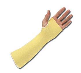 DuPont KVS-2-18TH Kevlar Sleeves - Kevlar knit sleeve w/ thumb hole