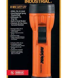 Industrial 2D Mine Safety Flashlight - Industrial mine safety flashlight