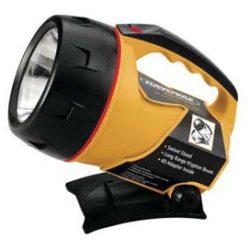Industrial 6 V Lantern - Industrial 6 V lantern w/ attached flip stand