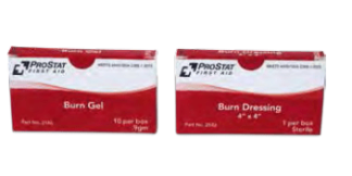ProStat 2166 Burn Gel .9 g, 10 per box