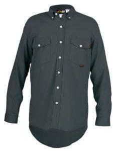MCR S1G FR Gray Work Shirt