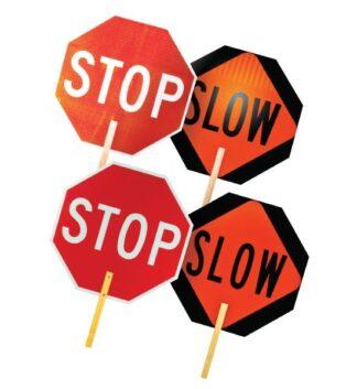 3A SPS18 Safety Stop/Slow Paddle