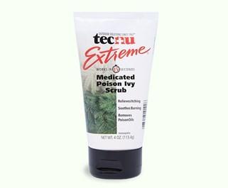 Tecnu Extreme Poison Ivy Scrub and Treatment 4oz Tube