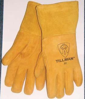 John Tillman Company 35-S Deerskin MIG Welders Gloves