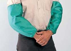 John Tillman 6218 Flame-Retardant Cotton Bib and Sleeves  18