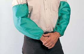 John Tillman 23 Inch Flame-Retardant Cotton  Sleeves Pair
