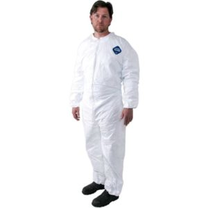 Tyvek TY125S Coveralls with Elastic Wrist & Ankles, 25PACK