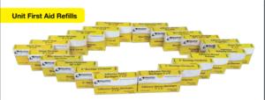 Prostat 2206 Gauze Pads 3 in x 3 in, 4 per box