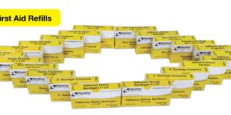 ProStat 2827 Gauze Bandage 1 in x 6 yd, 4 per box