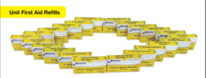 ProStat 2263 Bandage Woven Patch 2in x 3in, 6 per box